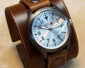 Nathan Drake Uncharted Leather cuff Watch