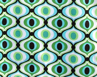 Feeling Groovy  in color spa fabric from Milchael Miller -  One Yard