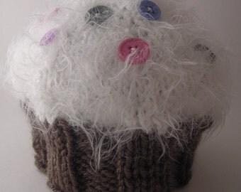 Cupcake Baby Hat PDF PATTERN