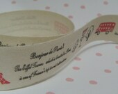 1 or 5 meters (39 / 195 inches) JAPANESE Sewing Tape 20mm - Code S-002