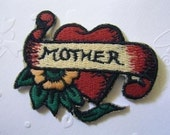 MOTHER Iron On Patch / Applique 60x45mm (2.5x1.75 inches) - Code PC072