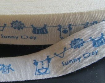 1 meter (39 inches) Japanese Sewing TAPE 15mm width - Code S-032