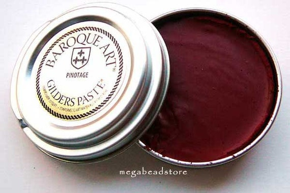 Gilders Paste - Pinotage (Red Wine) - Antique Jewelry Paste- Jewelry Vintage Look