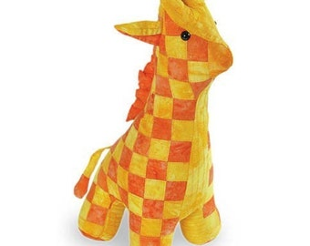 Giraffe Sewing Pattern, PDF format