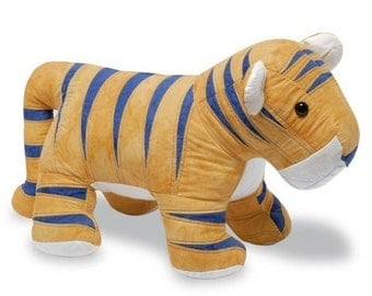 Tiger Sewing Pattern, PDF format