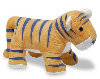 Tiger Sewing Pattern, PDF format