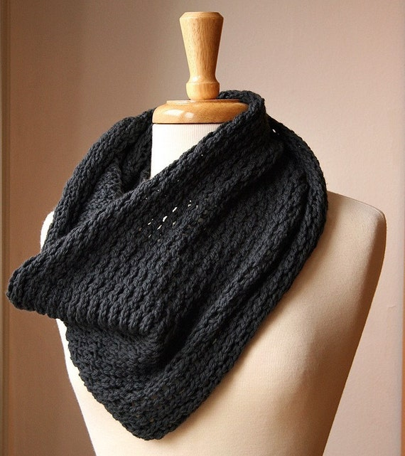 Bridget - Handmade Luxurious Merino Wool Knit Cowl - CUSTOM COLORS