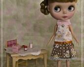 Blythe Dress Retro and Rococco C
