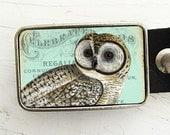 Belt Buckle- Vintage Owl