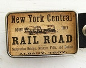 New York Central Railroad Belt Buckle