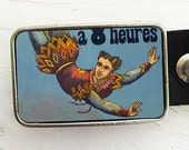 Circus Acrobat Belt Buckle