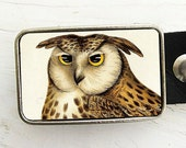 VintageOwl Belt Buckle