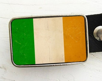 Flag of Ireland Belt Buckle