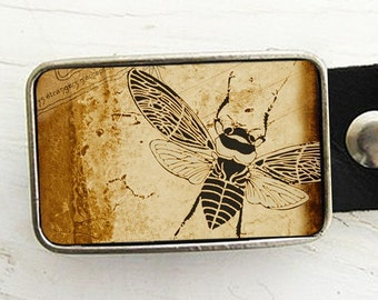 Vintage Bee Belt Buckle