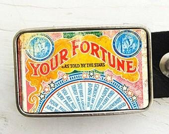 Fortune Card Belt Buckle