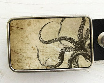 OctopusTentacles Belt Buckle