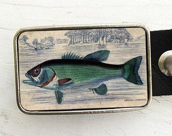 Largemouth Bass Belt Buckle