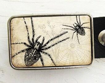 Tarantula Belt Buckle - Halloween