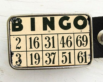 Bingo Belt Buckle
