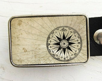 Mariner's Compass Belt Buckle (pt 2) , Groom, Groomsmen Gift