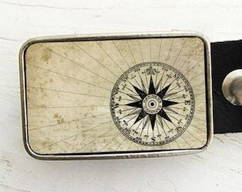 Mariner's Compass Belt Buckle (pt 2) , Groom, Groomsmen Gift