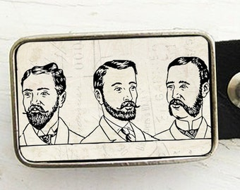 Belt Buckle Bearded Men