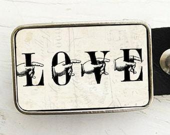 Love Belt Buckle, Valentine's Day