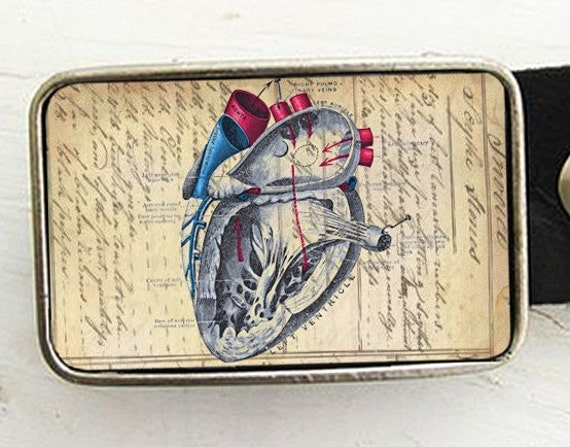 Anatomy of a Heart Belt Buckle