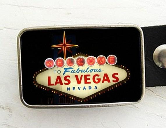 Las Vegas Sign Belt Buckle