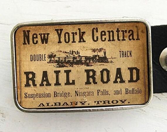 New York Central Railroad Belt Buckle