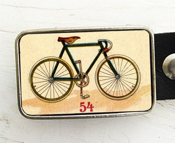 Belt Buckle Vintage Bicycle, Belt Buckle As seen in Bicycling Magazine, gift under 30