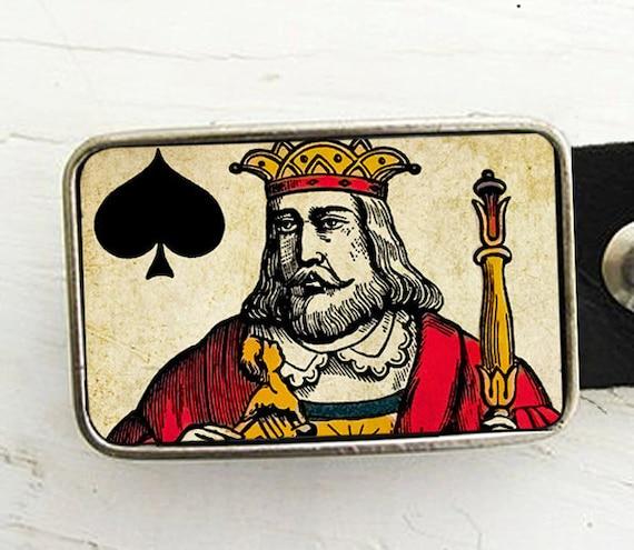 King of Spades Belt Buckle