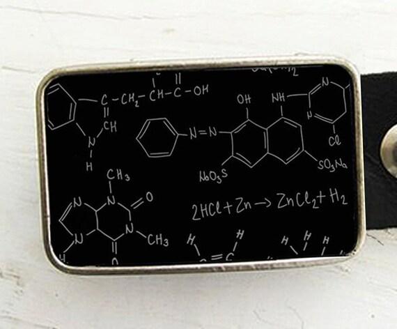 Chemistry Belt Buckle