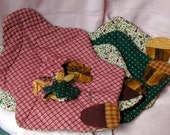 Autumn Leaves Placemat Set and Napkin Rings