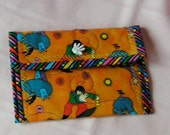 The Beatles Yellow Submarine cloth wallet