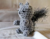 Squirrel, amigurumi