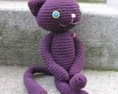 Jackie Jackson Purple Cat