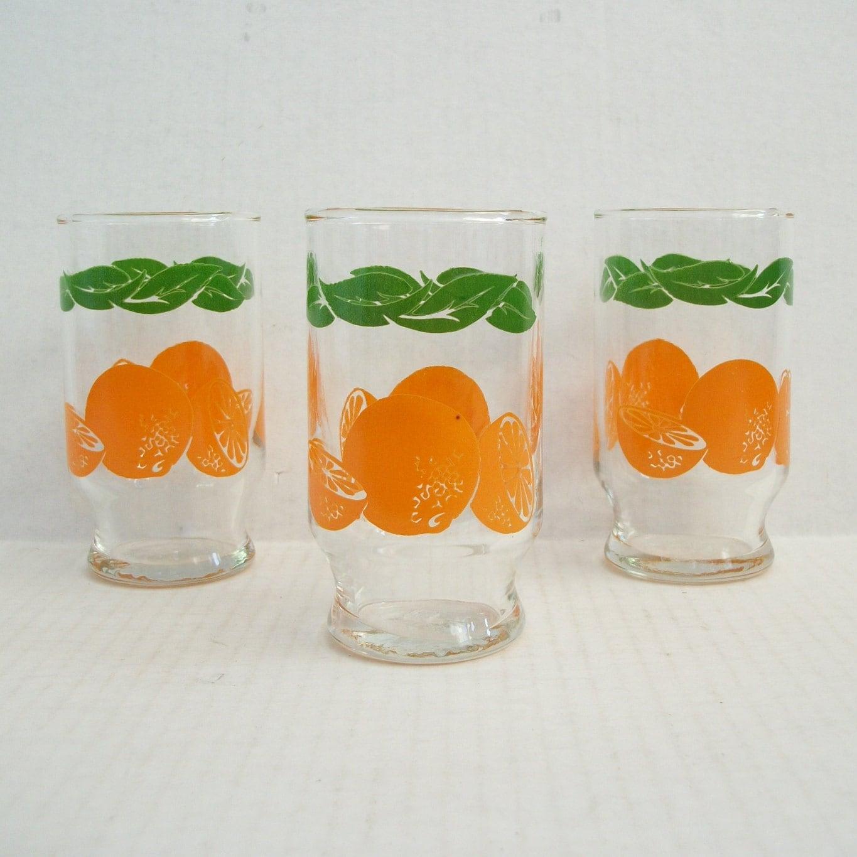 Vintage Juice Glasses 2