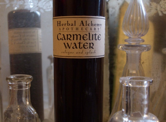 Carmelite Water Cologne, made for a king, men's cologne, aftershave, men's fragrance, handmade