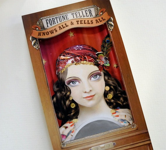 Fortune Teller Custom Message Scratch Off Card