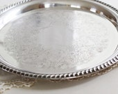 vintage silver plate william rogers tray
