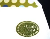SALE- Simple Thank You with Lined Envelope