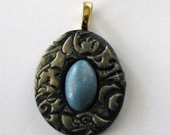 Blue Bead in Nest