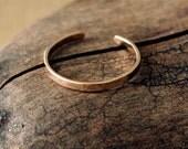 14K Gold Fill Toe Ring- Flat -1.5mm