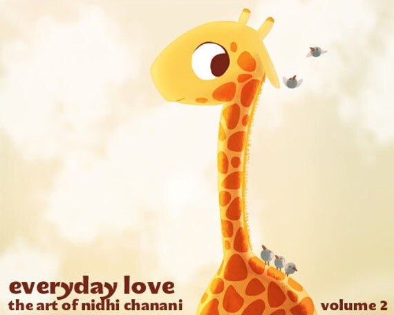 "Art Book, Art Book for Children - ""Everyday Love Vol. 2"" - Limited Edition Art Book, Nidhi Chanani"