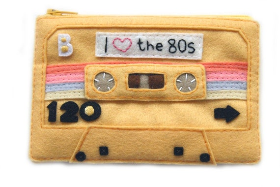 Special Edition Mixtape Pouch - I Love the 80s
