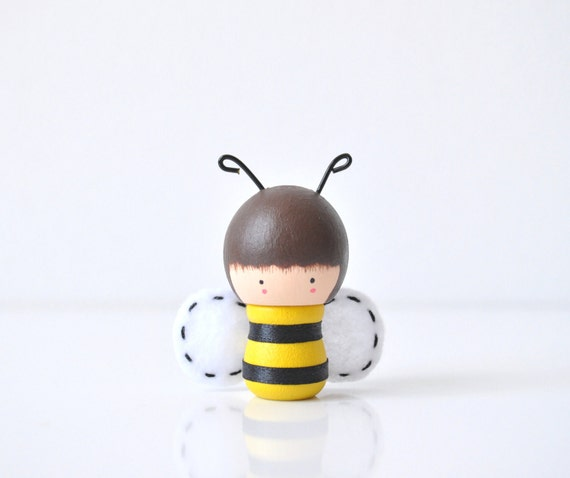 Little Bumble Bee - Wooden Friend