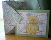 Road Atlas Note Card Set by Samann1121