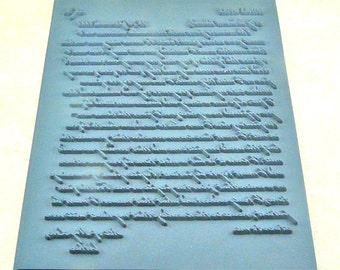 Lisa Pavelka Rubber Stamp Love Letter  27094