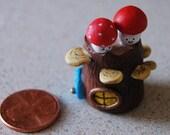 Mini Mushroom House